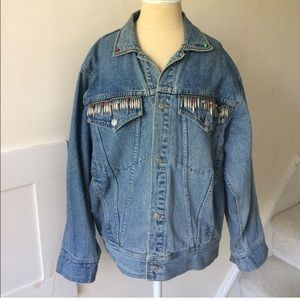 Cool denim jacket vintage